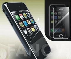 iPhone  PET三層高透防刮花保護膜