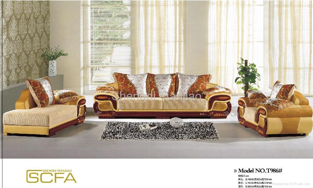 Luxury Sofa Sets T986 Tianjiao China Living Room Furniture Furnitur