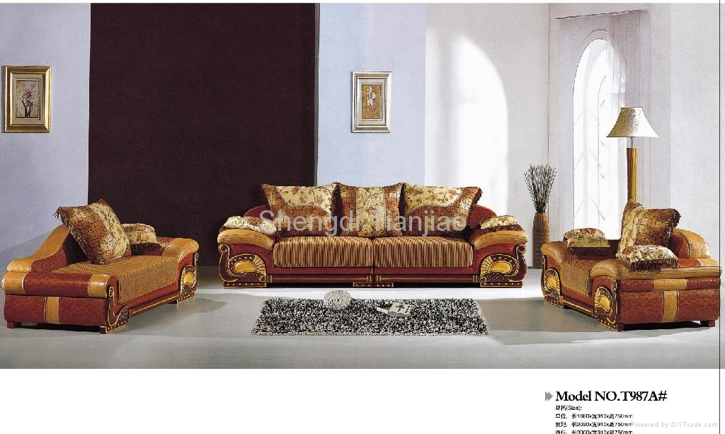 Luxury Sofa Sets T987a Tianjiao China Living Room