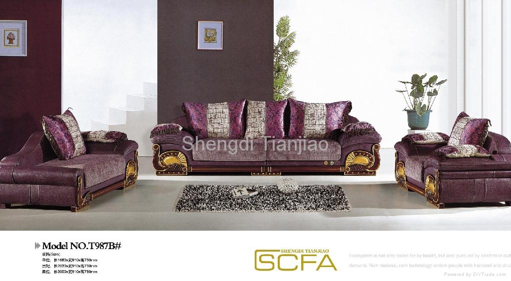 Luxury Sofa Sets T987B Tianjiao China Living Room Furniture Furnitu