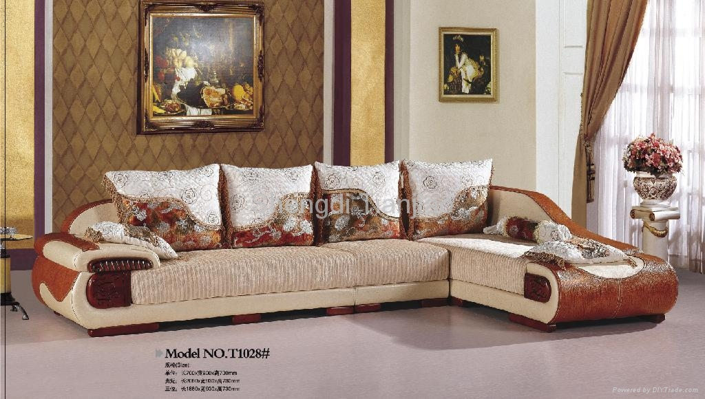 Luxury Sofa Sets T1028 Tianjiao China Living Room