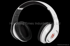 Monster Beats by Dr. Dre High-Definition Studio Headphones-White
