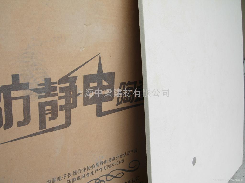 上海直鋪式通體防靜電瓷磚  5