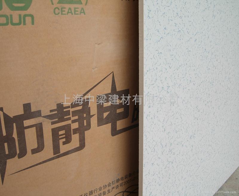 上海直鋪式通體防靜電地磚 1