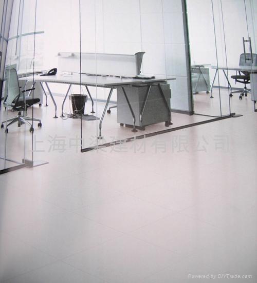 上海良盾牌防靜電瓷磚地板 1