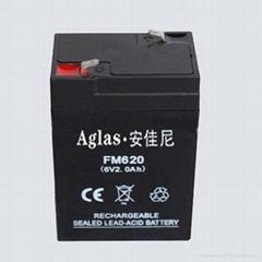 供应6V2AH蓄电池