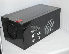供应太阳能电力电信用12V250AH蓄电池