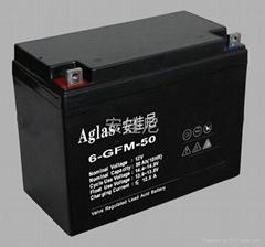 供应太阳能系统用12V50AH蓄电池