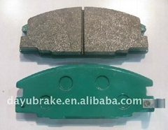 brake pads D363 for toyota