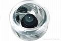 Outside rotor caster centrifugal fan