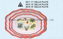 Melamine Oval Plate