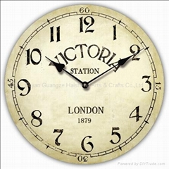 Wooden Wall Clock/MDF Wall Clock/Decorative Clock