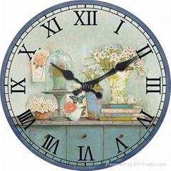 Gift Wall Clock/Gift Clock/MDF Paper Printed Clock