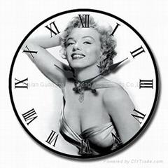 Art Glass Clock