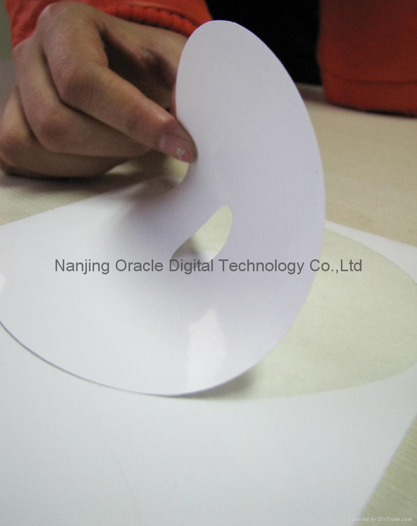 130g matte cd dvd sticker inkjet paper 130gsm koala for Dvd sticker printing