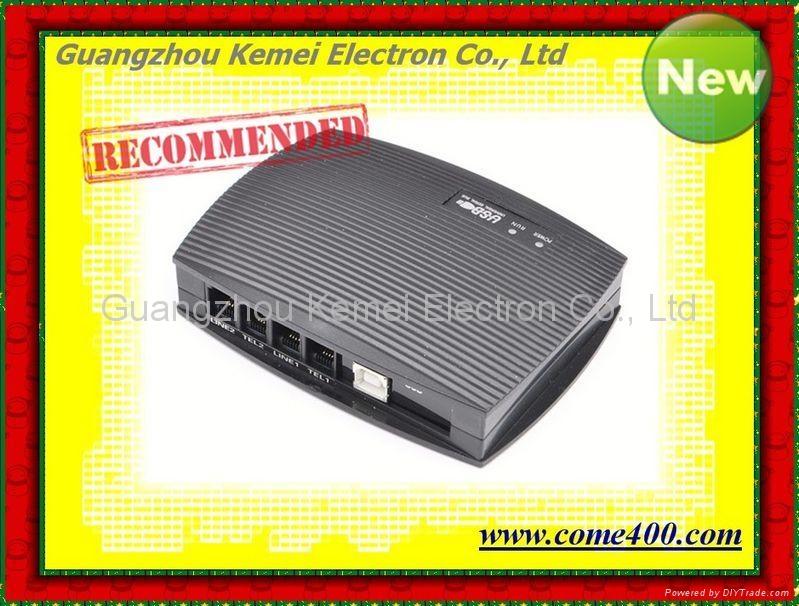 2 port USB Telephone Voice Recorder,record 2 telephone lines.USB call recorder 1