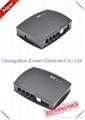 2 port USB Telephone Voice Recorder,record 2 telephone lines.USB call recorder 2