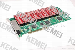 16 channels PCI card for recording telephone call conversation