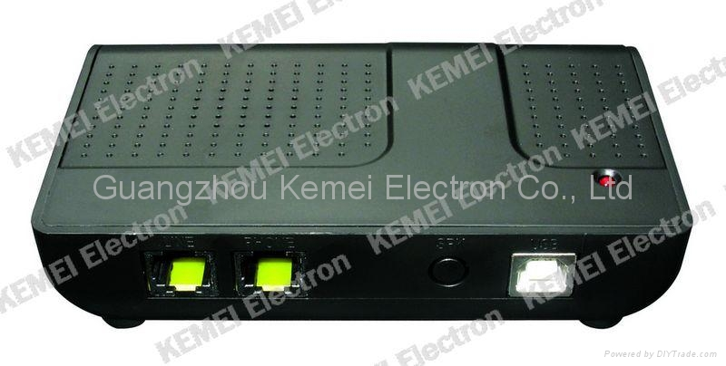 KEMEI COME800-RL1 USB Telephone Call Voice Recorder 1 channel 1