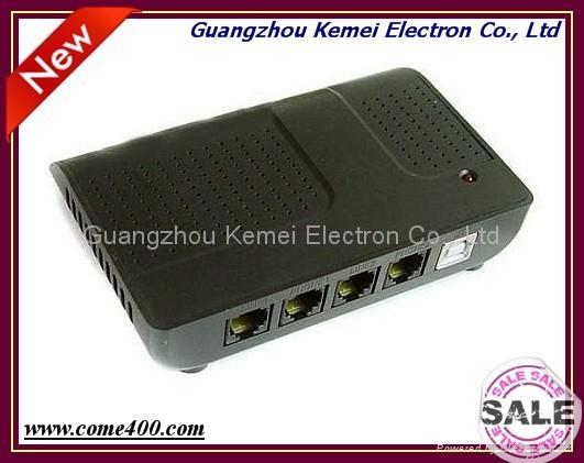 2 channels USB telephone call recording box 1