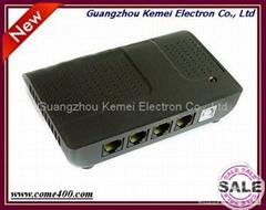 2 channels USB telephone call recording box