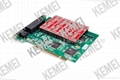8 ports telephone call voice recording PCI card 2