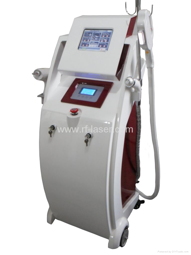 Newest elight bipolar rf laser tattoo removal beauty for Laser tattooing machines