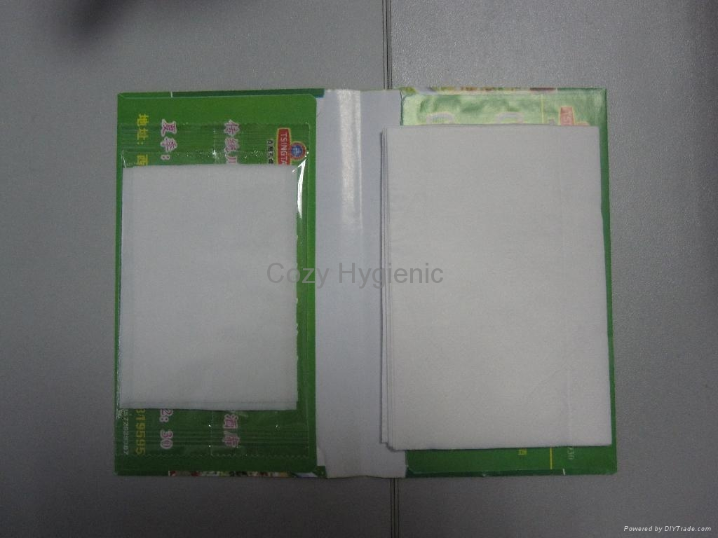 dry and wet tissue set  1