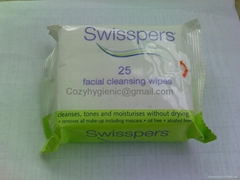 Facail cleansing wipes