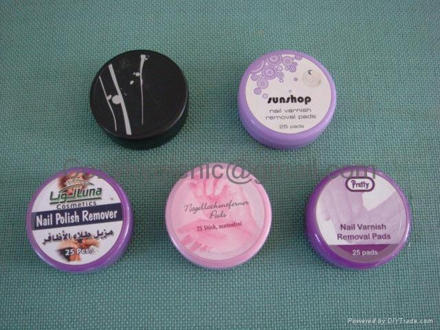 Nail polish wipes  2
