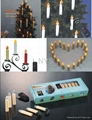 Gift Sets  wireless electronic Remote Control Christmas Candle  1