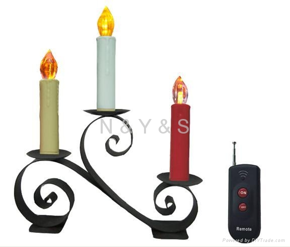 Remote Control LED  Candle Lights 1