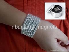 Ndfeb magnetic bracelet