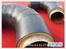 鋼套鋼直埋蒸汽復合保溫鋼管