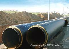 高溫蒸汽鋼套鋼直埋保溫鋼管