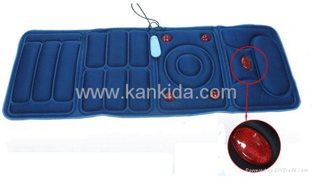 Heating Vibration Massage Bed Cushion 1