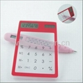 Solar powed Touch screen Transparent Calculator 2