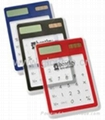Solar powed Touch screen Transparent Calculator 3