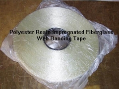 2830-Polyester Resin impregnated Fiberglass binding tape