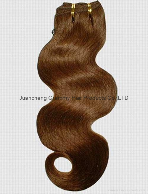100% remy human hair weft 1
