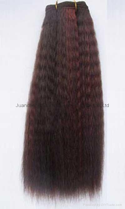 100% remy human hair weft 2