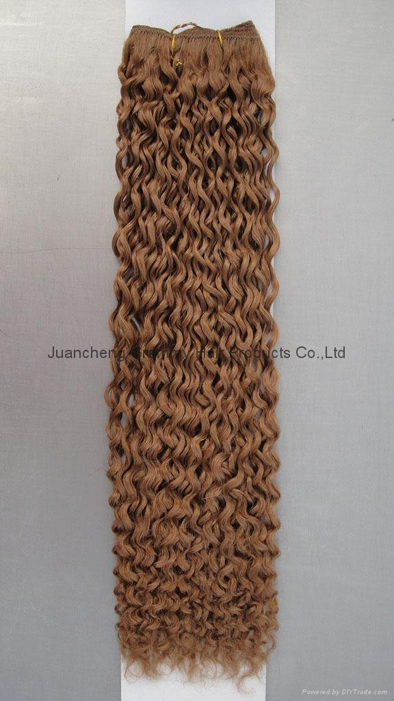 100% remy human hair weft 3