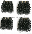 100% remy human hair weft 4