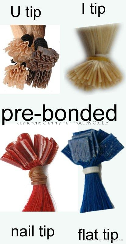 pre-bonded/keratin hair extension 4