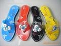 NO.1028+1-F women Plastic slippers