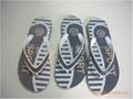 NO. 162+2 men Plastic slippers