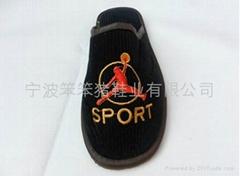 出口EVA粘胶室内sport拖鞋