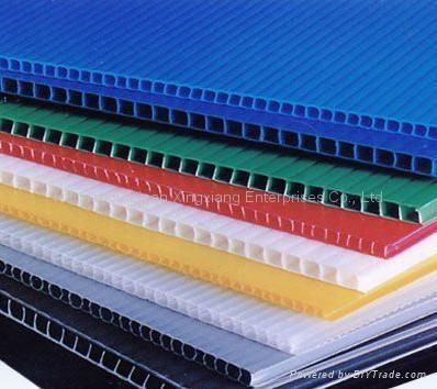 Twin Wall Corrugated Polypropylene Sheet Image Bonkee