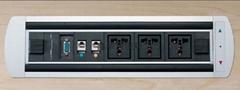 /桌面高檔電動插座