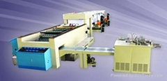 4-pocket cut-size sheeter with packaging line